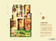 意林・国际公园3室2厅2卫164平方米户型图