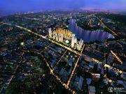 绿地瞰湖生活广场规划图