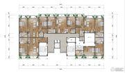 大理密湾旅游文化小镇2室2厅2卫110--121平方米户型图