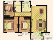 天齐・奥东花园3室2厅1卫94平方米户型图