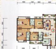 府前雅居苑4室3厅2卫146平方米户型图