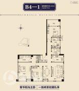 佳田新天地4室2厅2卫195平方米户型图