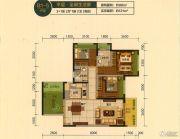 蓝光・林肯公园4室2厅2卫98平方米户型图