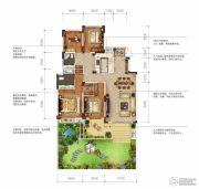 城投地产・智禧湾4室2厅2卫161平方米户型图