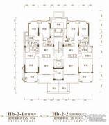 联投金色港湾4室2厅2卫125平方米户型图