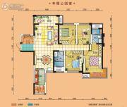 碧桂园・南城首府4室2厅2卫147平方米户型图