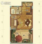 中航・维拉庄园1室1厅1卫41平方米户型图
