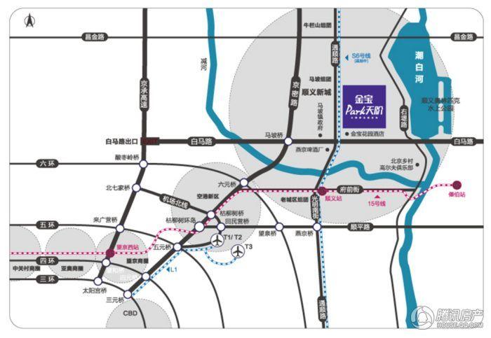 金宝PARK天阶交通图