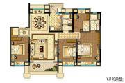 碧桂园嘉誉4室2厅2卫0平方米户型图