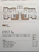 名晟花园3室2厅2卫153--163平方米户型图