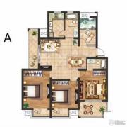 京河湾公寓2室2厅1卫115--120平方米户型图