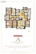 麒融国际5室2厅3卫330平方米户型图