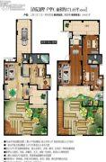 晟宝龙城市花园3室2厅2卫0平方米户型图