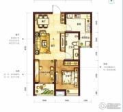 阳光100国际新城2室2厅1卫78平方米户型图
