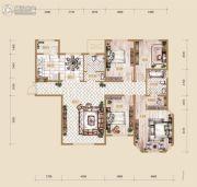 海宁湾4室2厅2卫165平方米户型图