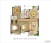 茂业观园 高层3室2厅2卫115--118平方米户型图