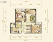 俊发星雅俊园2室2厅1卫68--113平方米户型图