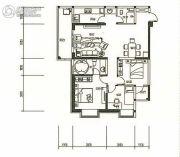 东旭骏城3室2厅2卫107--108平方米户型图
