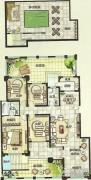 绿都万和城4室3厅2卫153--250平方米户型图