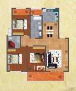 友谊嘉御龙庭3室2厅2卫136平方米户型图