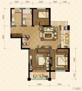 国信・国际公馆3室2厅2卫108--120平方米户型图