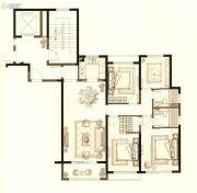 中梁首府壹号院4室2厅2卫119平方米户型图