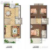 叠翠美庐3室2厅2卫0平方米户型图