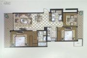 苏州湾壹号3室2厅2卫131平方米户型图