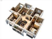 宿迁中央广场3室2厅2卫150平方米户型图