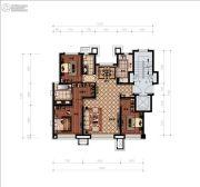 津门熙湖3室2厅2卫120平方米户型图