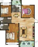 千玺�吩�3室2厅2卫119平方米户型图