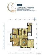 水韵豪庭3室2厅2卫200平方米户型图