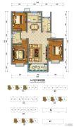 阳光・金水岸3室2厅2卫108平方米户型图