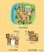 江南一品 别墅370平方米户型图