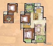 新城・香溢俊园2室2厅1卫110平方米户型图
