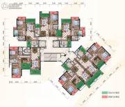 惠阳雅居乐花园3室2厅2卫116平方米户型图