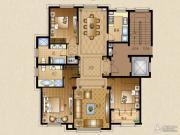 运河一品2室3厅2卫153平方米户型图