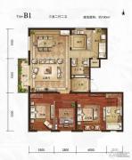 万年・园博墅3室2厅2卫190平方米户型图