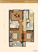 中冶沁海云墅3室0厅2卫142平方米户型图
