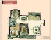 家和蓝岸丽舍3室2厅2卫143平方米户型图