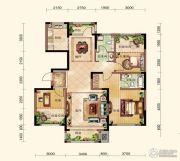 晟鑫康诗丹郡3室2厅2卫138平方米户型图