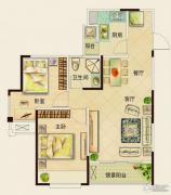 中铁逸都国际2室2厅1卫0平方米户型图