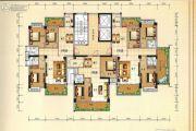 兴业花园2室2厅1卫128平方米户型图