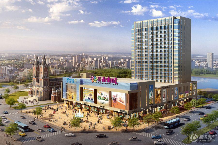 未来城项目效果图