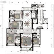 沈阳星河湾4室3厅4卫308平方米户型图