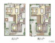 热河饮马川3室1厅2卫116平方米户型图
