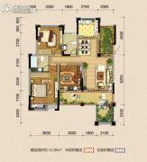 巨龙江山国际91平方米户型图