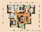 园方欧洲城3室2厅2卫121平方米户型图
