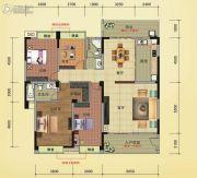 榕江明珠4室2厅2卫186平方米户型图