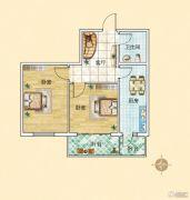 旗凯丽园2室2厅1卫0平方米户型图